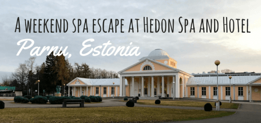 A weekend spa escape at Hedon Spa and Hotel Parnu, Estonia