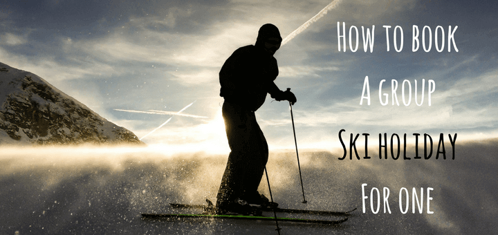 How to book A group ski holiday for one