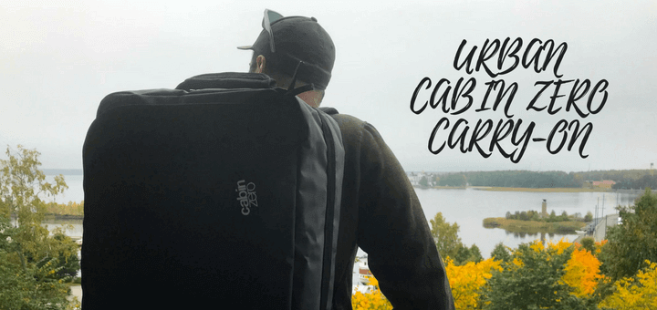 Urban Cabin Zero Carry-on, Perfect bag for Travellers and Digital Nomads