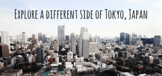 Explore a different side of Tokyo, Japan