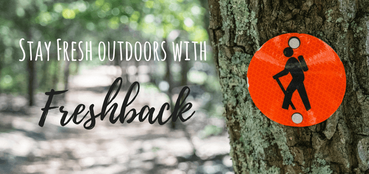 Stay Fresh Whilst Outdoors with Freshback