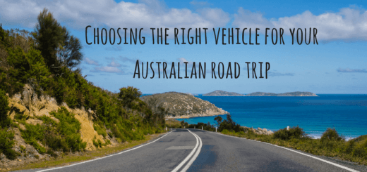 Choosing the right vehicle for your Australian road trip