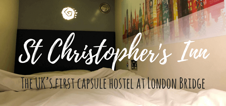 St Christopher's Inn Capsule hostel