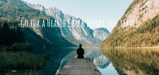 Go for a Health Check before you travel