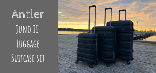 Antler Juno II Large, Medium and Cabin luggage suitcase set
