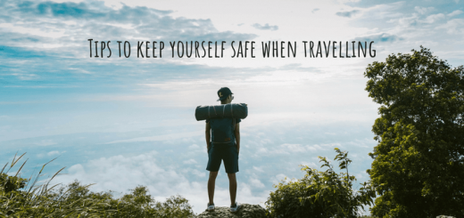 Tips to keep yourself safe when travelling
