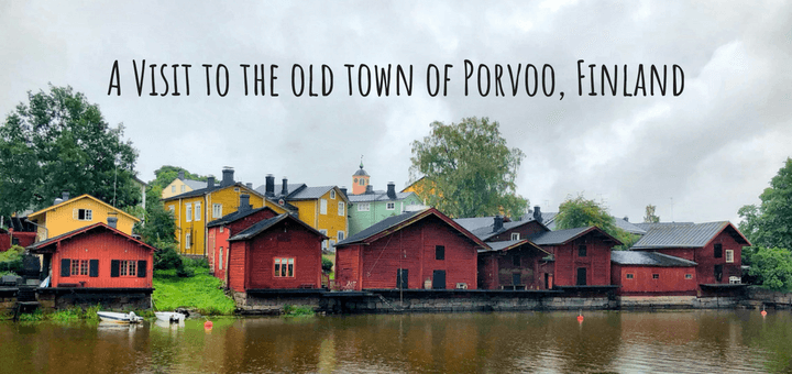 Visit to the old town of Porvoo