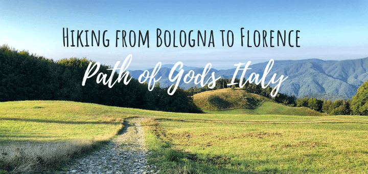Hiking from Bolognat o Florence along the Path of Gods Italy