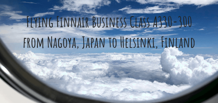 Flying Finnair Business Class A330-300 from Nagoya, Japan to Helsinki, Finland
