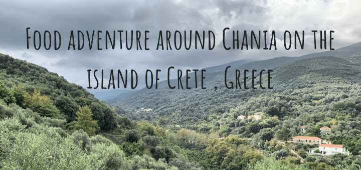Food adventure around Chania on the island of Crete, Greece