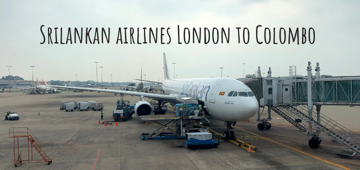 Srilankan airlines London to Colombo A330-300 Economy Review