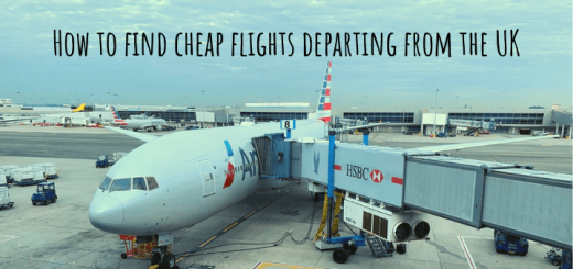 How to find cheap flights departing from the UK