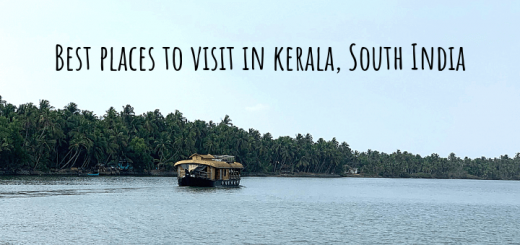 Best places to visit in kerala South India