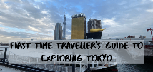 First time traveller's guide to exploring Tokyo