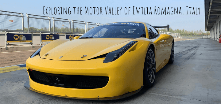 Exploring the Motor Valley of Emilia Romagna Italy