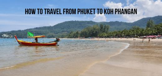 How to travel from Phuket to Koh Phangan