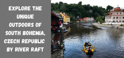 Explore the unique outdoors of South Bohemia, Czech Republic by river raft