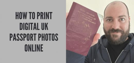How to print digital UK Passport Photos Online