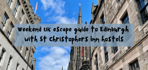 Weekend UK escape guide to Edinburgh with St Christophers Inn hostels
