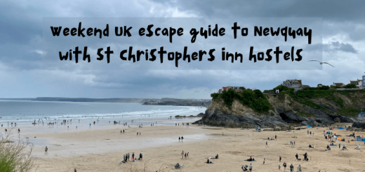 Weekend escape guide to Newquay Cornwall with St Christophers Inn hostels